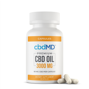 CBD Oil Capsules 3000 mg 60 Count