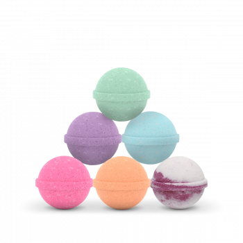 CBD Bath Bomb - 6 Pack - 100 mg