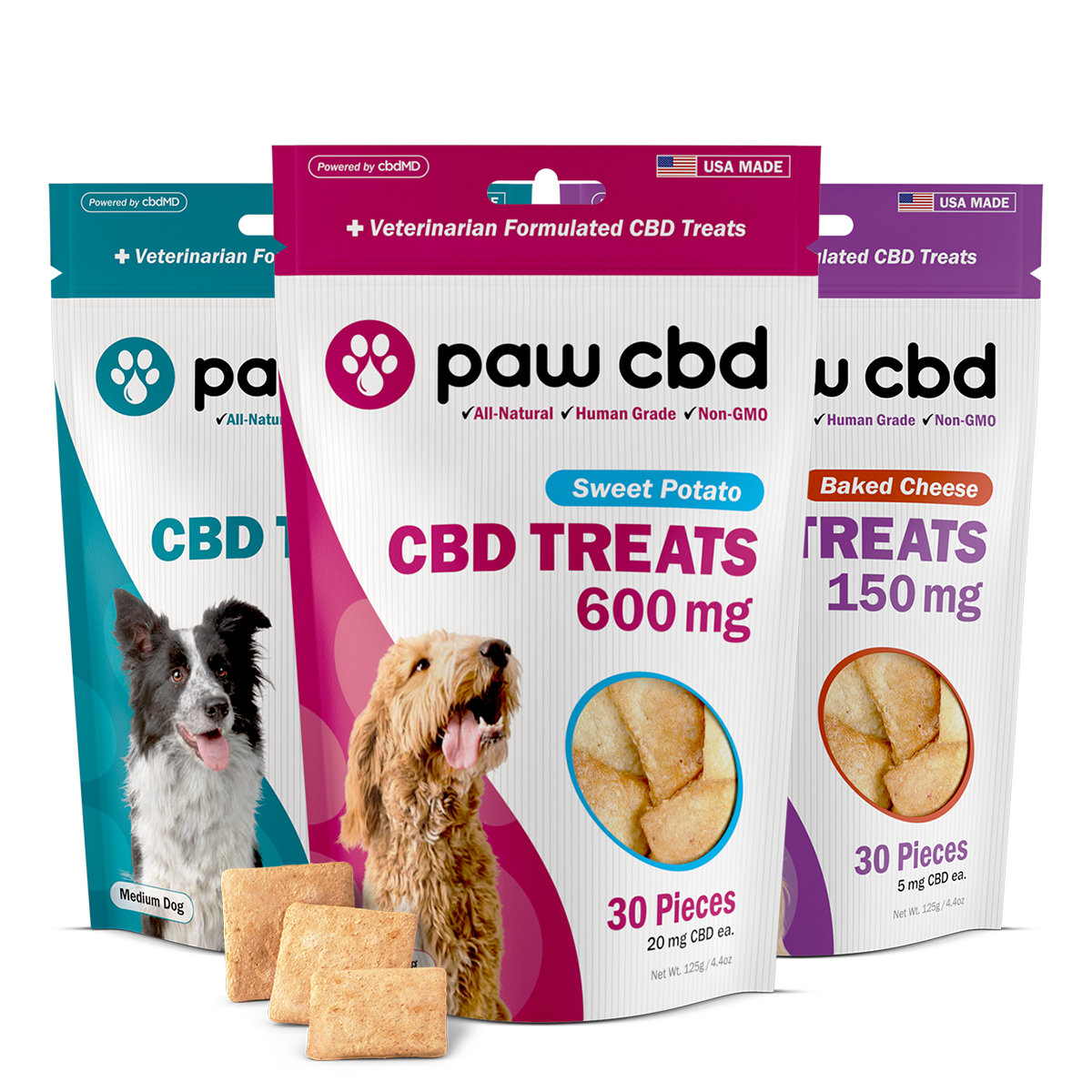 CBD Hard Chews for Dogs for Sale - Bag